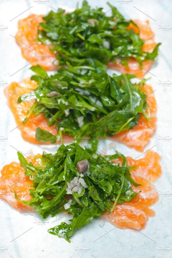 japanese salmon sushi carpaccio 016.jpg - Food & Drink