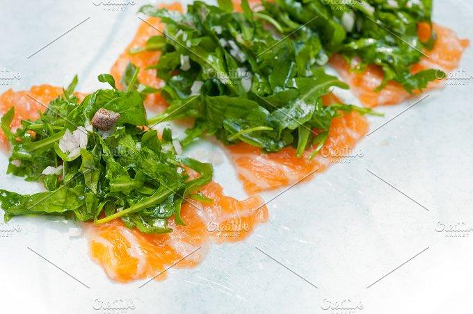 japanese salmon sushi carpaccio 018.jpg - Food & Drink