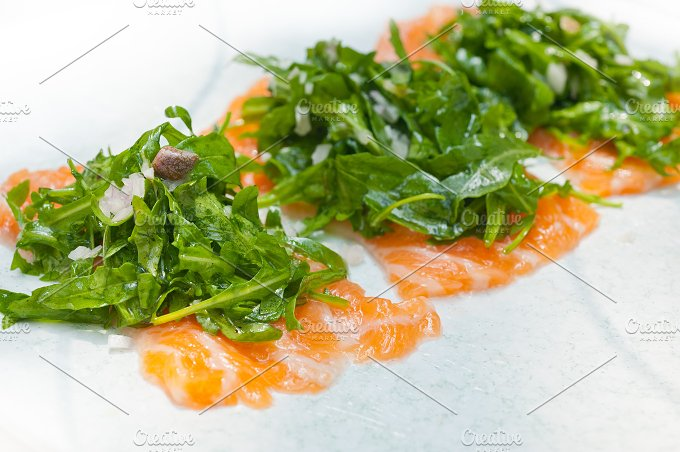 japanese salmon sushi carpaccio 017.jpg - Food & Drink