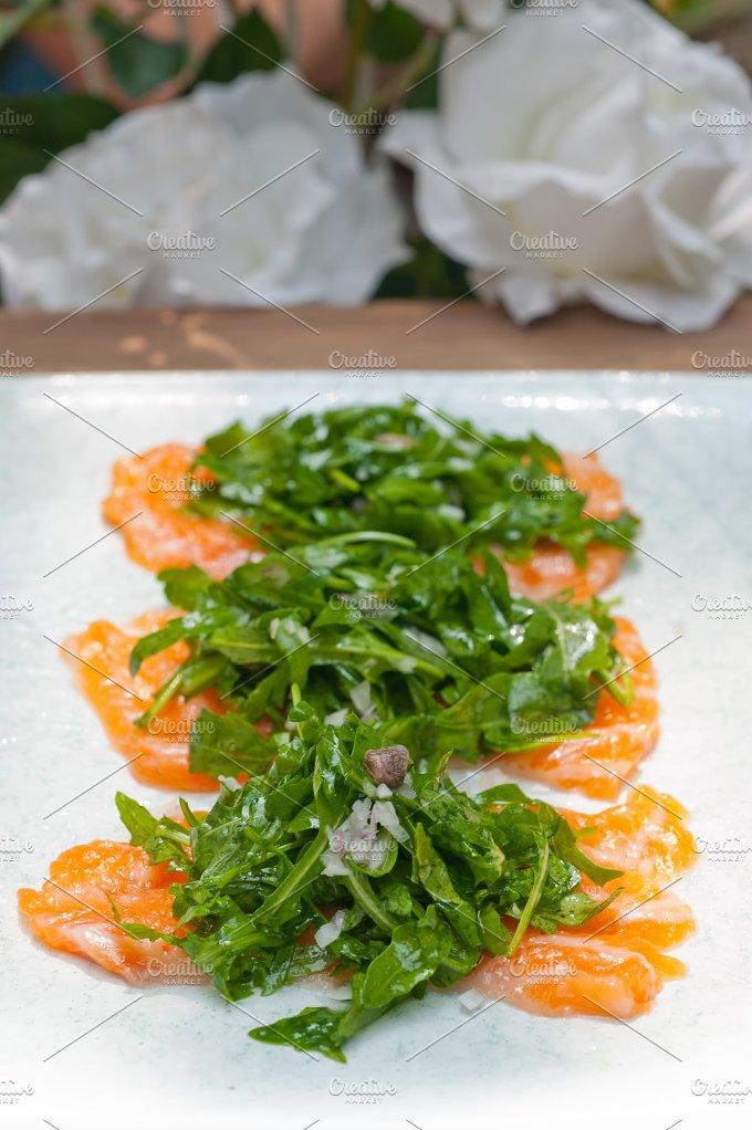 japanese salmon sushi carpaccio 024.jpg - Food & Drink