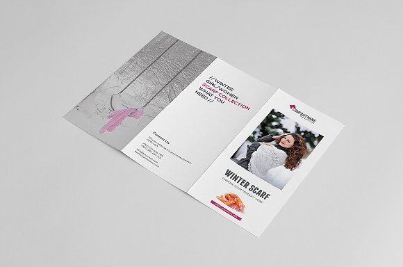 Product Promotion Trifold Brochure ~ Brochure Templates ~ Creative ...