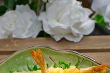 japanese shrimps tempura and salad 003.jpg