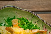 japanese shrimps tempura and salad 005.jpg