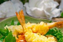 japanese shrimps tempura and salad 011.jpg