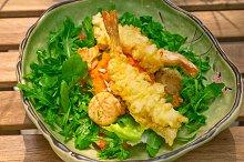 japanese shrimps tempura and salad 019.jpg