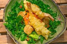 japanese shrimps tempura and salad 020.jpg