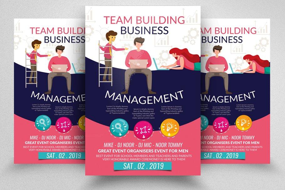 Business Management Flyer Template