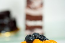 orange tangerine and blueberries cream cupcake 009.jpg