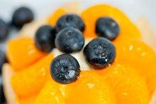 orange tangerine and blueberries cream cupcake 016.jpg