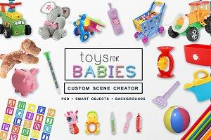 Toys for babies Custom Scene Creator