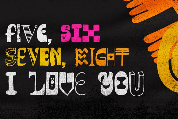 Altogether intro 40% off in Display Fonts - product preview 2