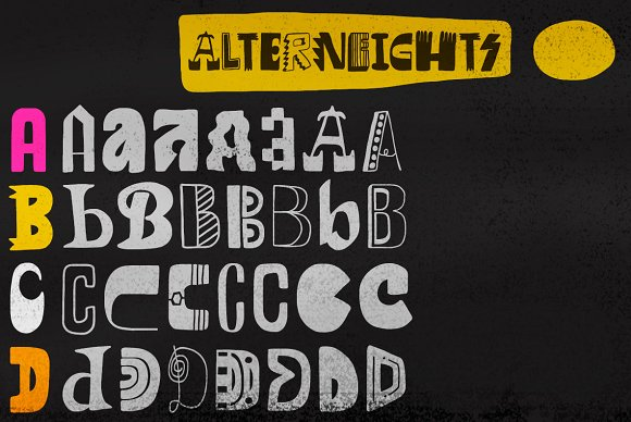 Altogether intro 40% off in Display Fonts - product preview 3