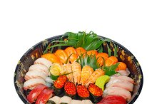 sushi take away plastic tray over white 001.jpg