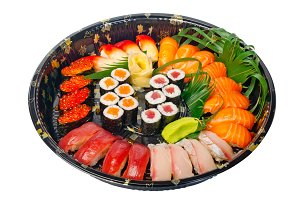 sushi take away plastic tray over white 006.jpg