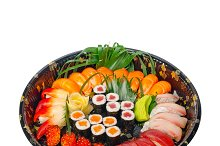 sushi take away plastic tray over white 005.jpg