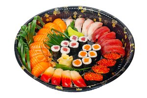 sushi take away plastic tray over white 004.jpg