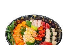 sushi take away plastic tray over white 003.jpg