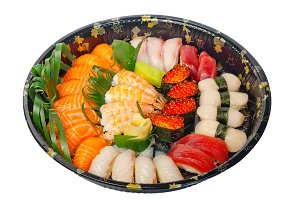 sushi take away plastic tray over white 003.jpg