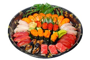 sushi take away plastic tray over white 008.jpg