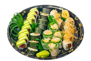 sushi take away plastic tray over white 013.jpg