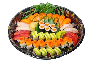 sushi take away plastic tray over white 011.jpg
