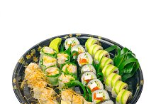 sushi take away plastic tray over white 015.jpg