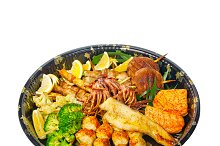 sushi take away plastic tray over white 016.jpg
