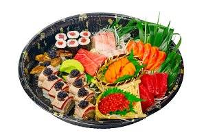 sushi take away plastic tray over white 021.jpg