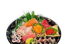 sushi take away plastic tray over white 020.jpg