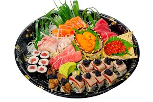 sushi take away plastic tray over white 020.jpg
