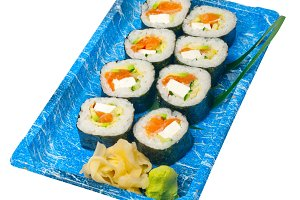 sushi take away plastic tray over white 024.jpg