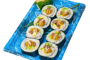 sushi take away plastic tray over white 031.jpg