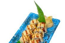 sushi take away plastic tray over white 032.jpg