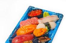 sushi take away plastic tray over white 037.jpg