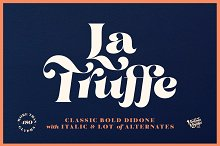 La Truffe • Stylish Didone