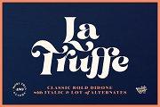 La Truffe • Stylish Didone