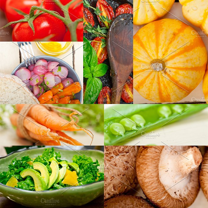 hearty vegetables collage A8.jpg - Food & Drink