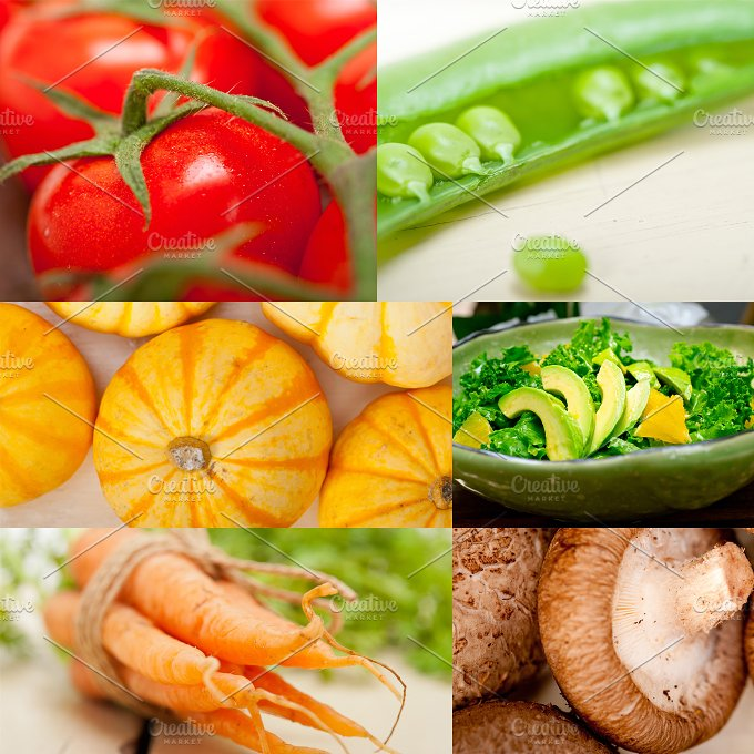 hearty vegetables collage B7.jpg - Food & Drink