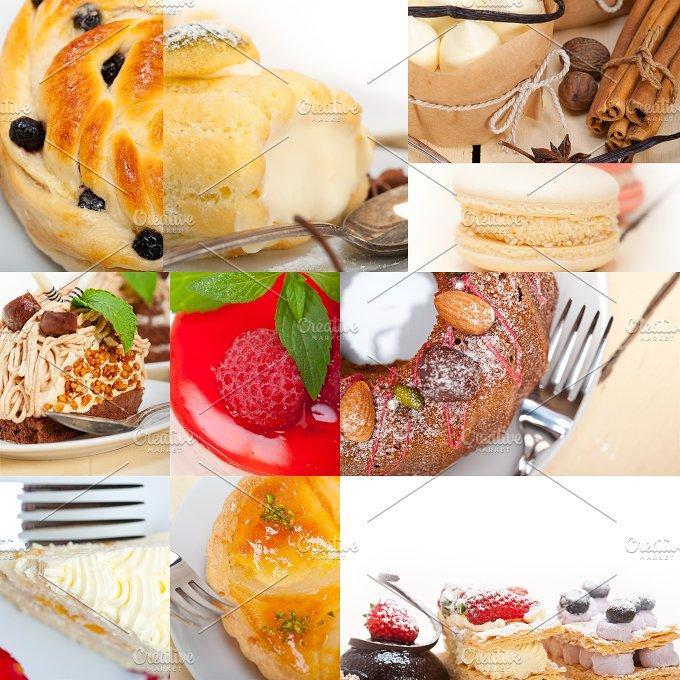fresh cake dessert collage 3.jpg - Food & Drink