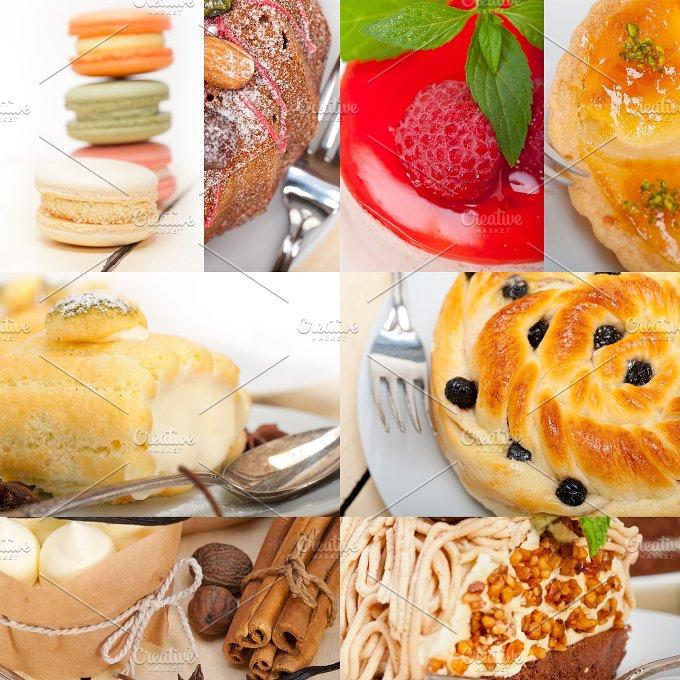 fresh cake dessert collage A6.jpg - Food & Drink