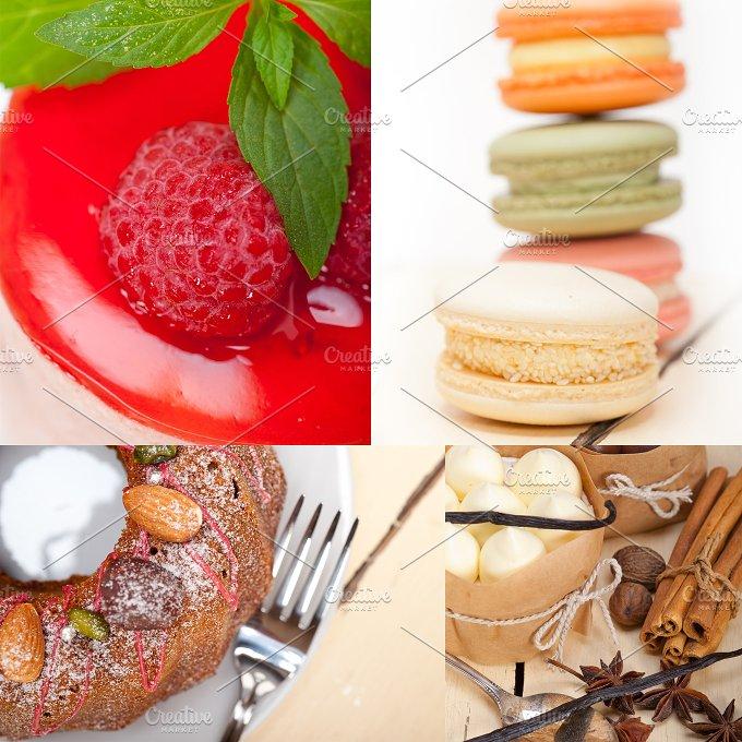 fresh cake dessert collage C4.jpg - Food & Drink