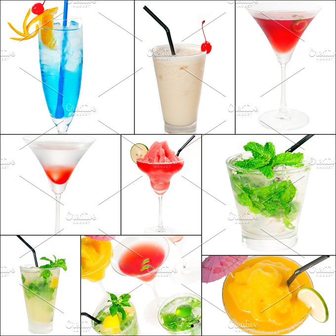 cocktails collage 1.jpg - Food & Drink