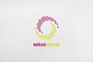 circle, internet, media, letter s