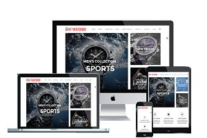 AT Watches Shop Joomla Template