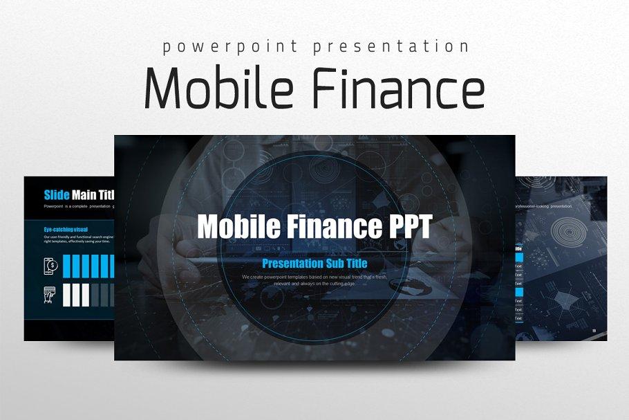 Mobile Finance PPT - fintech