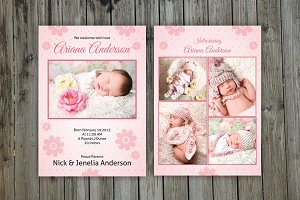 Newborn Announcement Template-V03