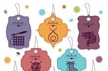 Needlework badges