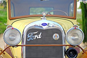 Ford type A detail