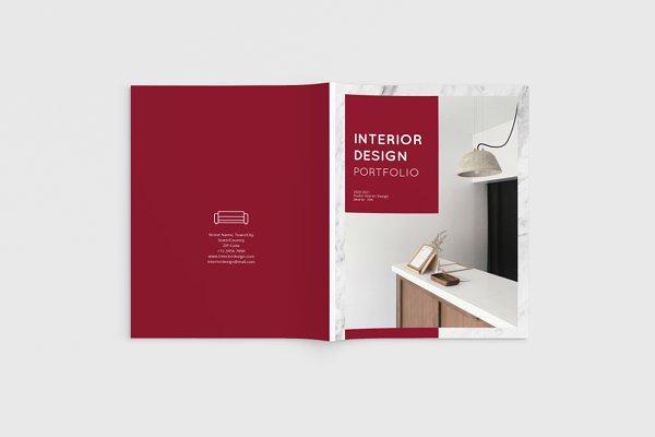 Interior Design Brochure Magazine