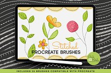 Procreate Stitched Brushes